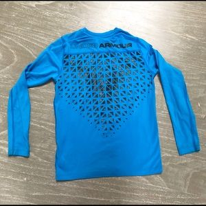 Under Armour boys cold gear fitted long sleeve
